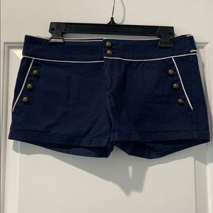 Quicksilver Nautical Yachty Shorts w Gold Buttons